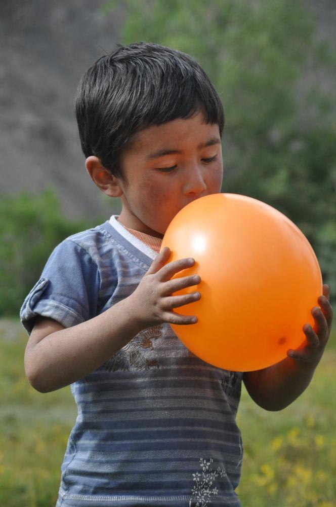 Enfant ladakhi