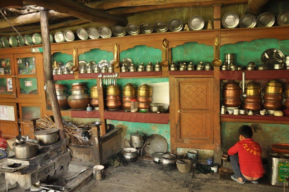 Cuisine traditionnelle ladakhi