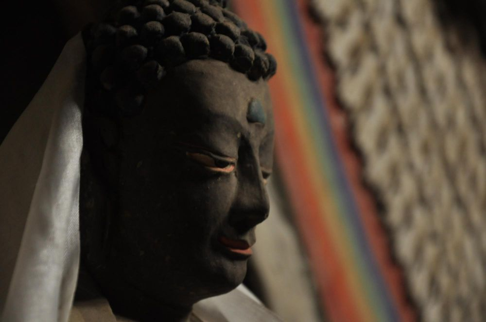 Bouddha monastère religion himalaya