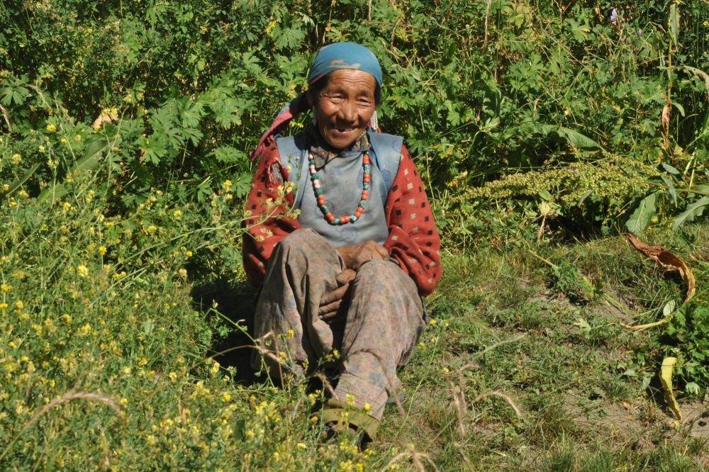 Femme ladakhi rencontre nature