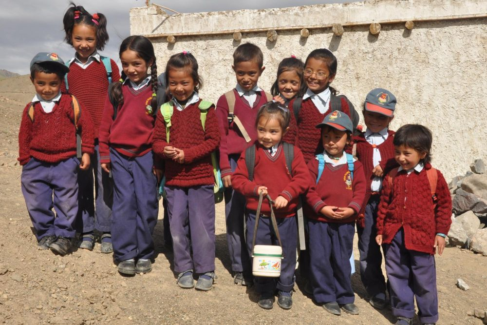 Rencontre enfants ladakhis école