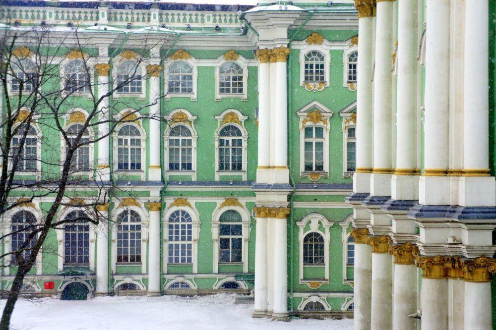 Palais de l'Hermitage à Saint-Pétersbourg
