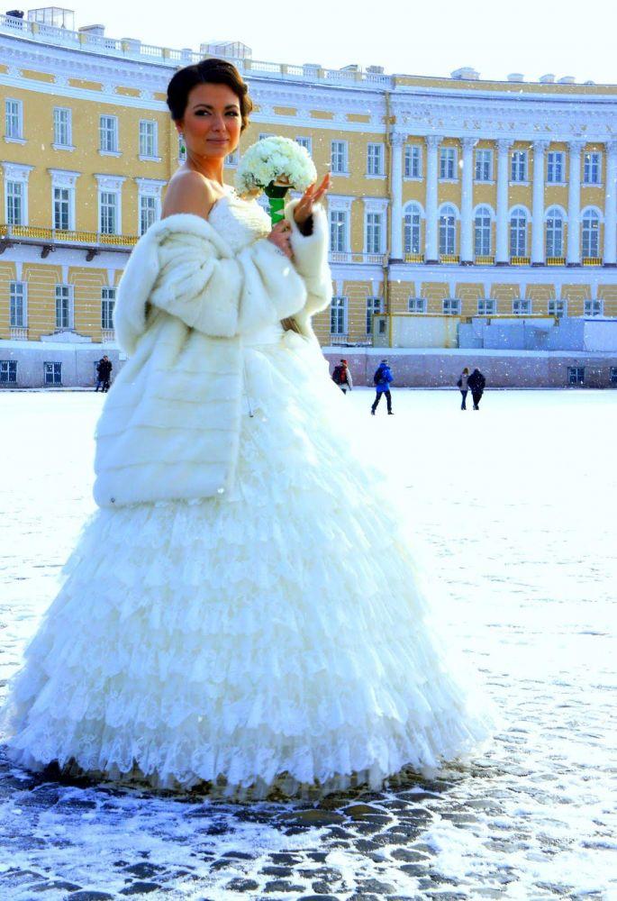 Jeune mariée russe