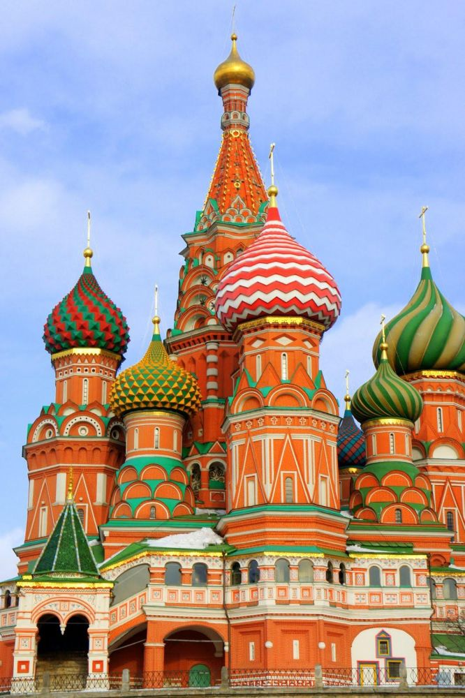 Cathédrale Saint Basile à Moscou