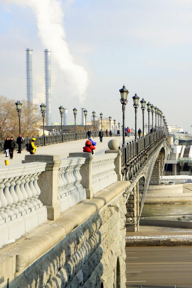 Pont à Moscou, Russie