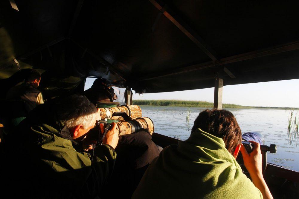 Dans le bateau-affût