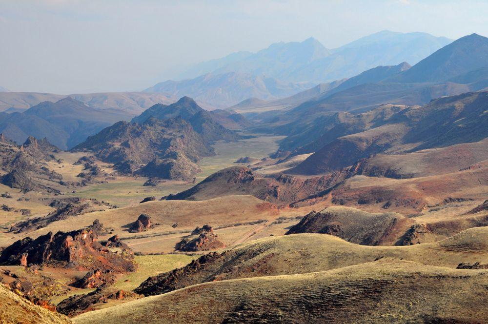 Contreforts de la cordillère des Andes, Argentine
