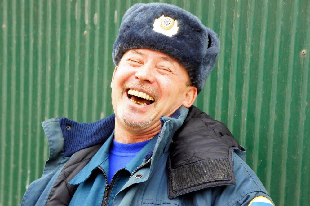éclat de rire en Russie