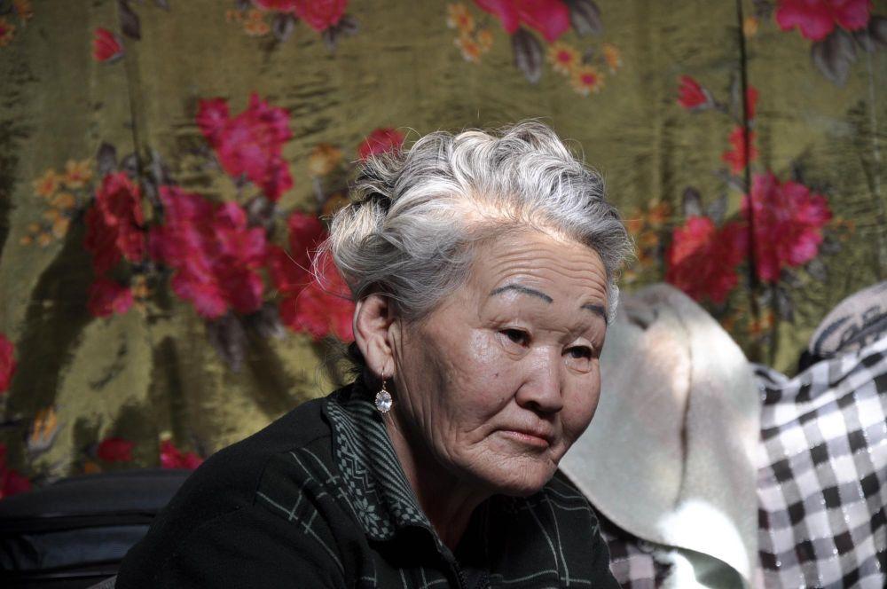 femme mongole