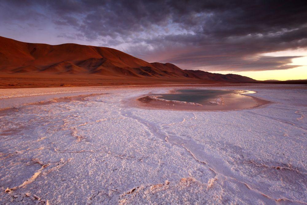 Ojo de mar, Tolar Grande, Argentine