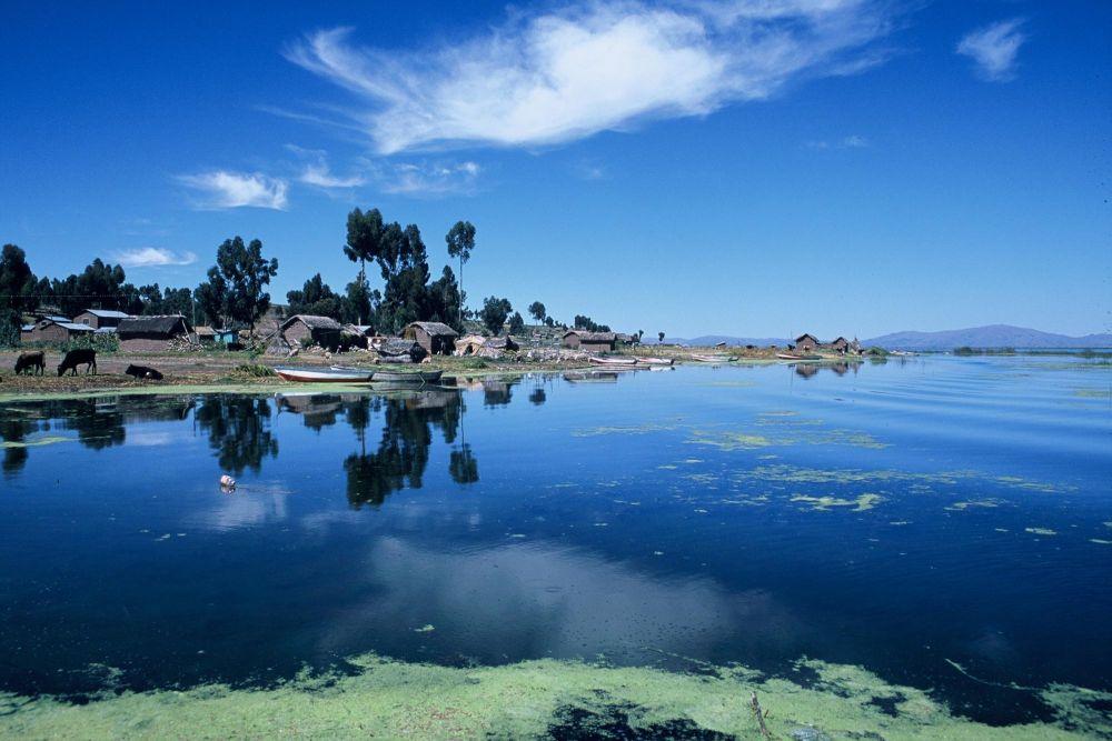 Voyage découverte Pérou lac Titicaca Anapia
