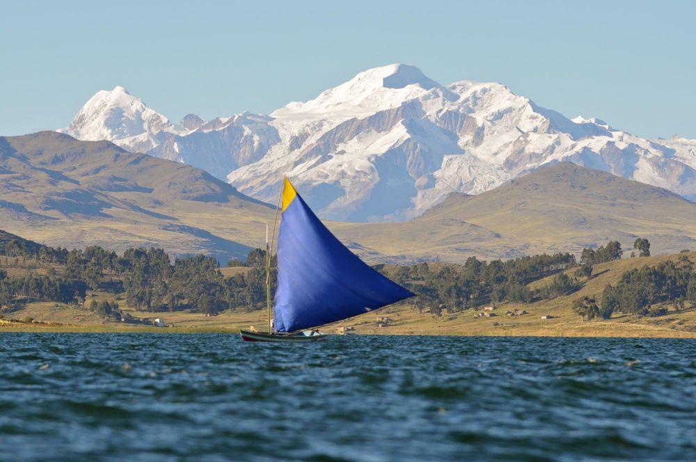 cordillère Royale et lac Titicaca Anapia Pérou