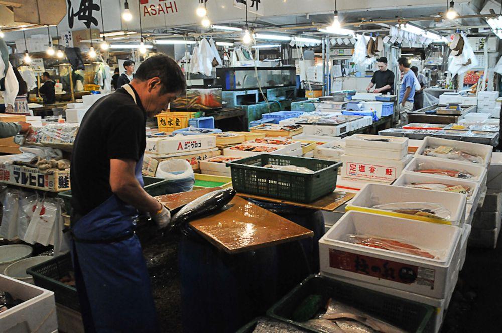 Marché aux poissons de Tokyo