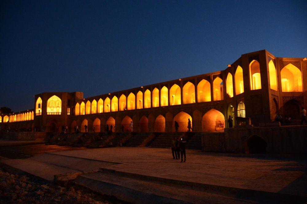 Pont Si-O-Se-Pol à Ispahan