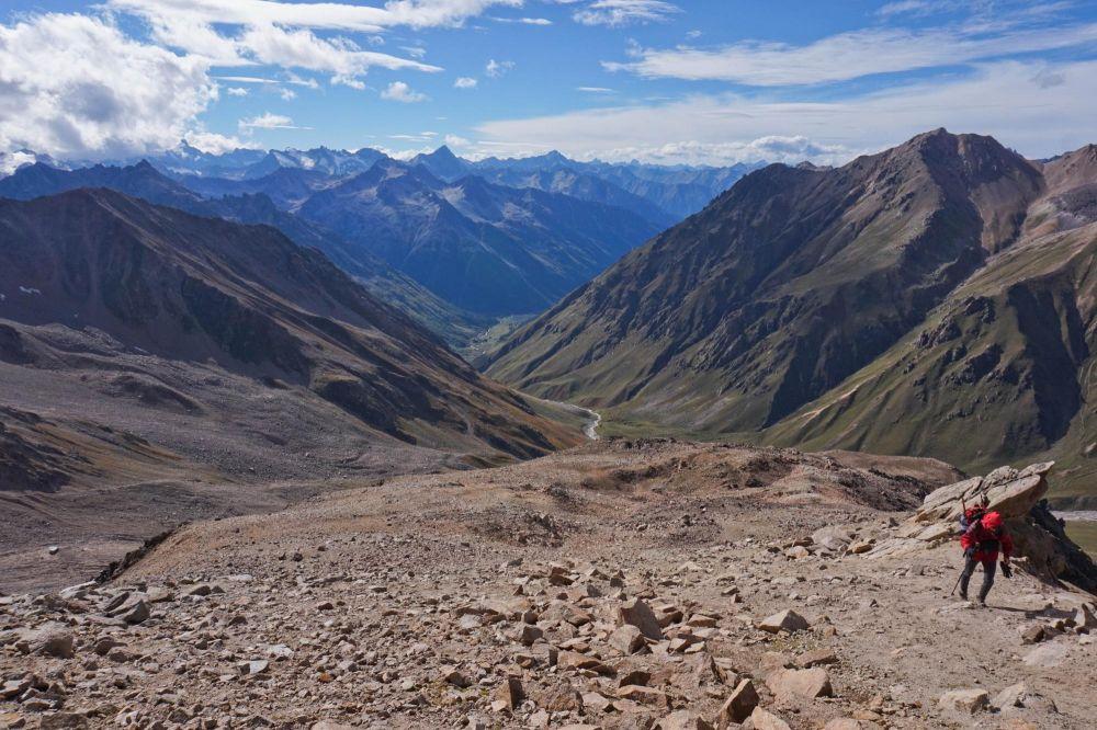 Grand trek autour du mont Elbrouz