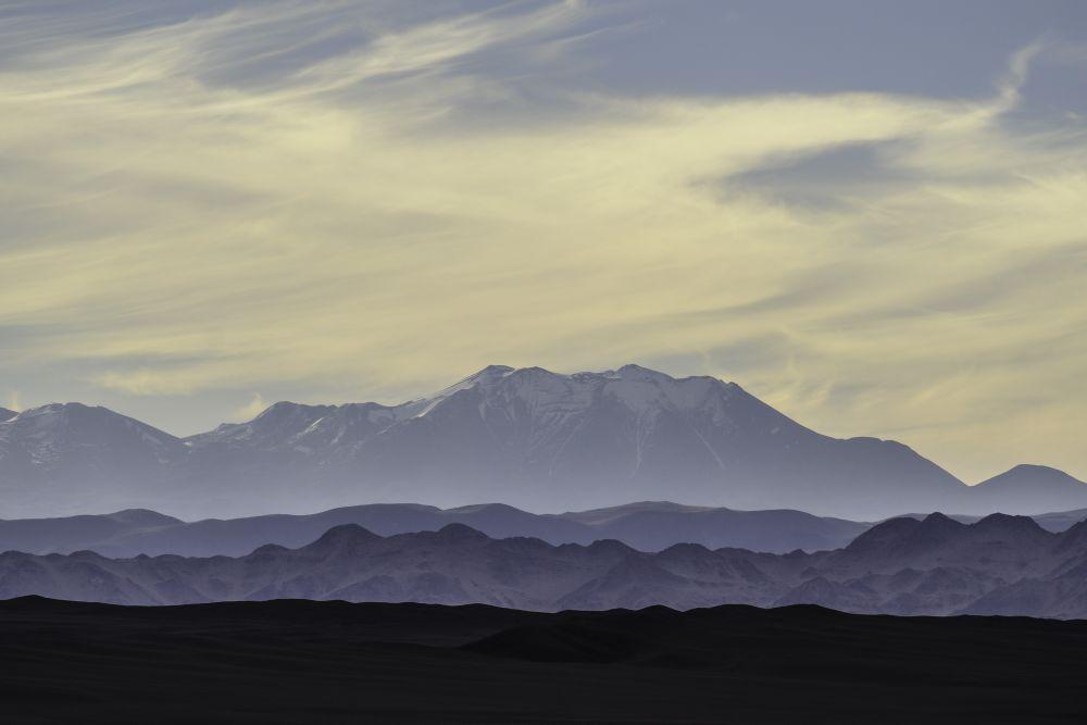 Nevcado de Cachi, vu depuis l'Altiplano argentin
