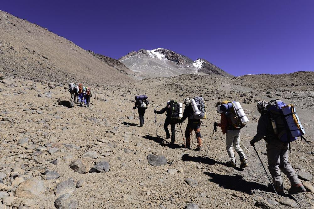 Premier jour de l'ascension du Llullaillaco, Argentine