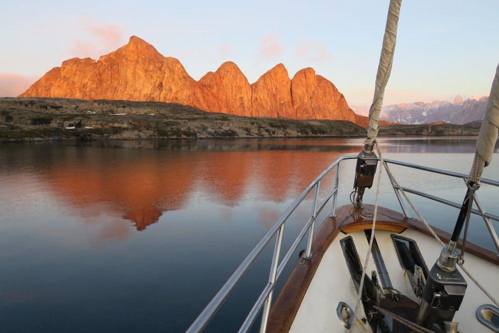 Expédition en voilier dans le Scoresbysund au Groenland