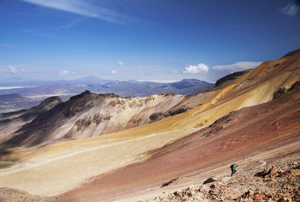 Ascension du volcan Tunupa
