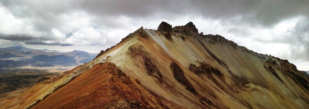 Sommet du volcan Tunupa