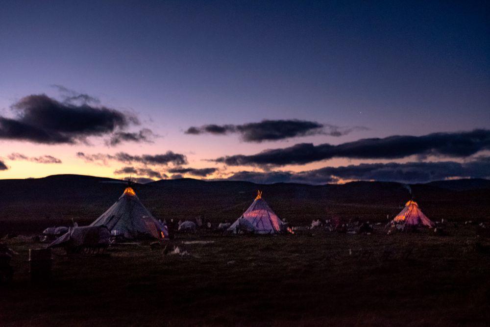 En 2018, arrivée de nuit chez les nomades