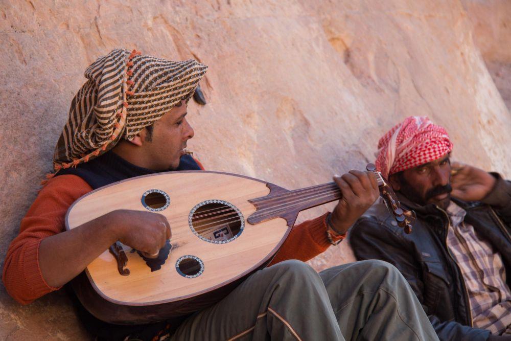 Bédouins Wadi Rum