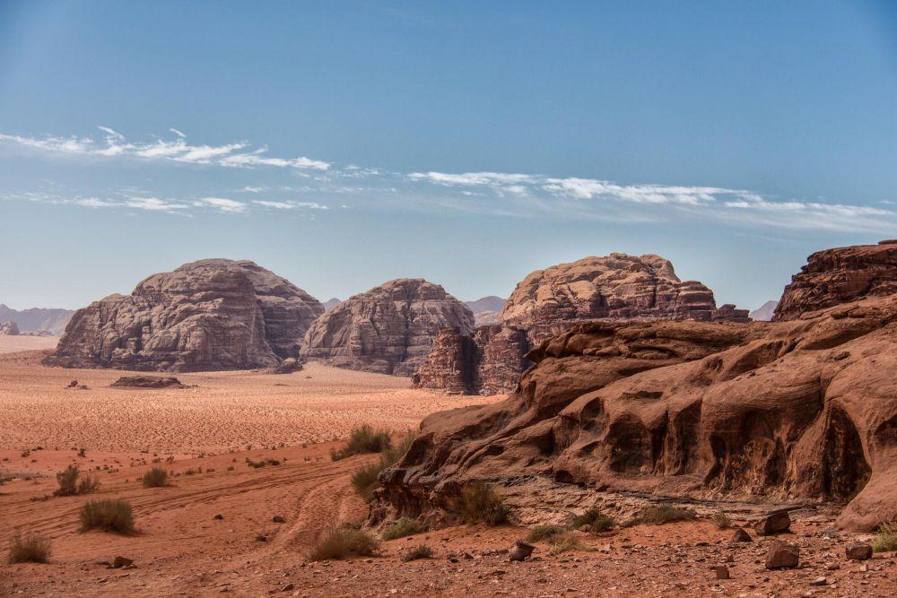 Piste Wadi Rum