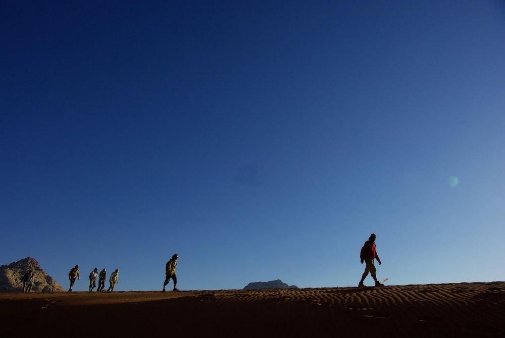 Trek dans le Wadi Rum