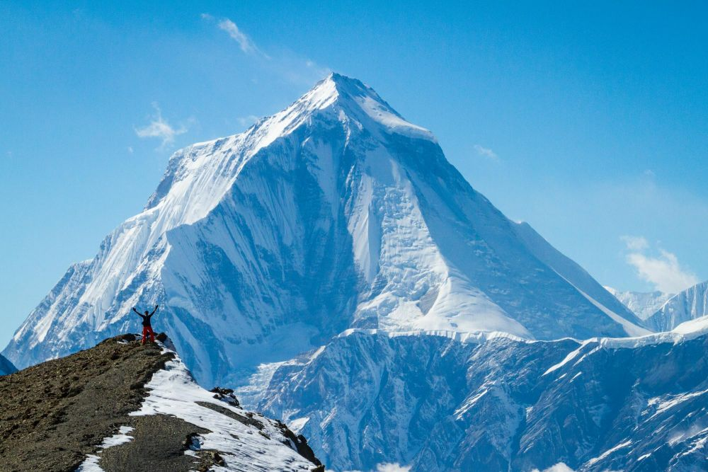 Le Daulaghiri, dernier 8000m du trek - Népal