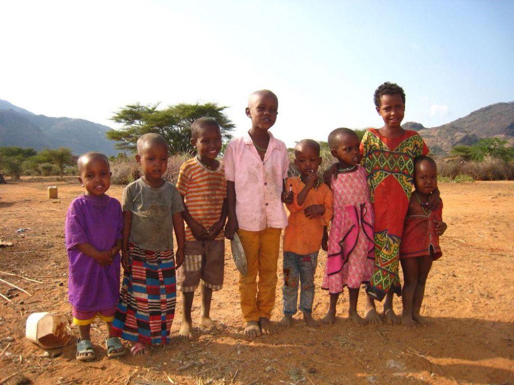 enfants maasai