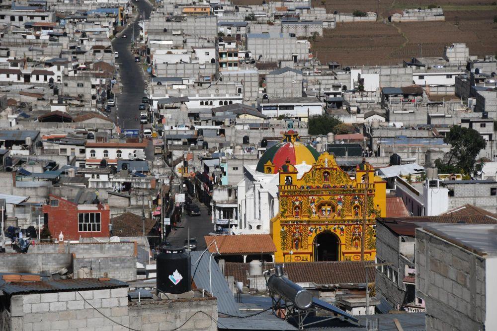 Eglise de San Andrés Xecul à Totonicapán