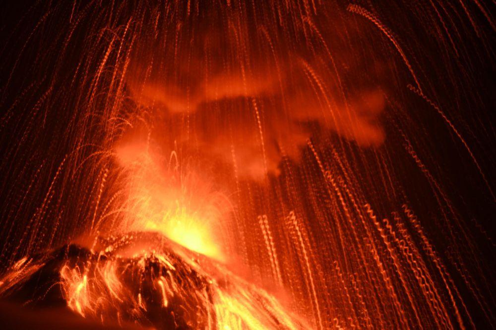 Eruption du volcan Fuego
