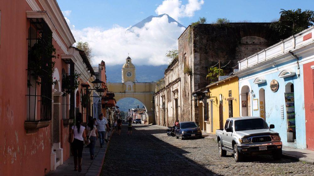 Rue d'Antigua, Guatemala
