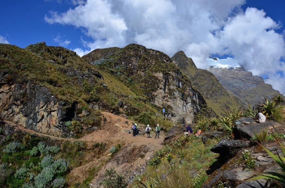 sur le trek de Choquequirao, Pérou