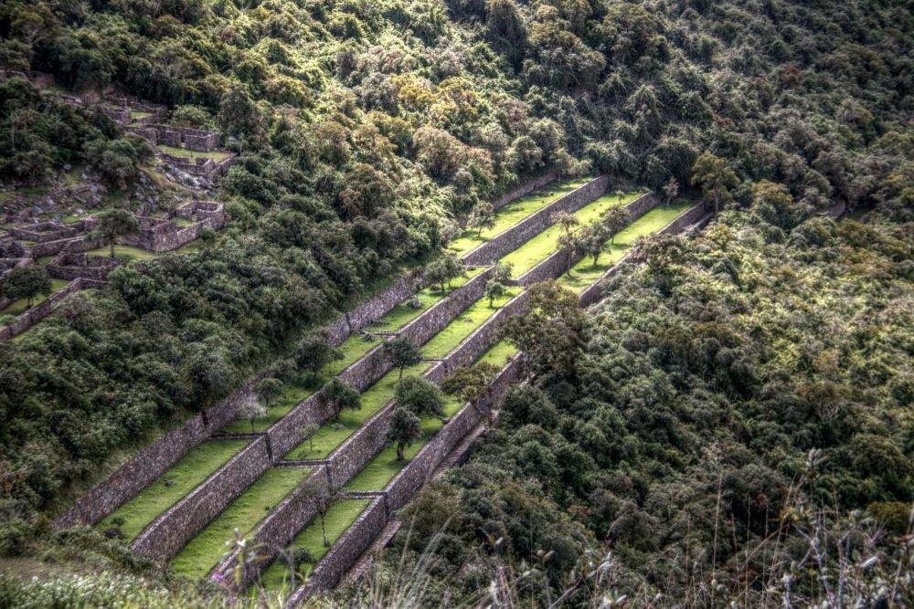 Site de Choquequirao, Pérou