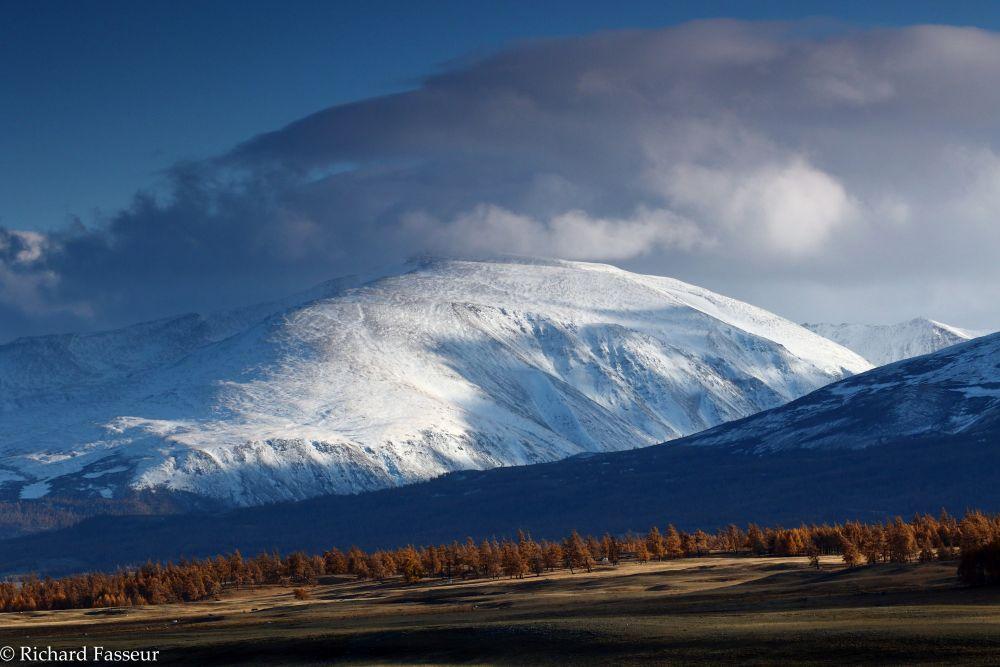 Plaine et Monts Tsambagarav, voyage en Mongolie