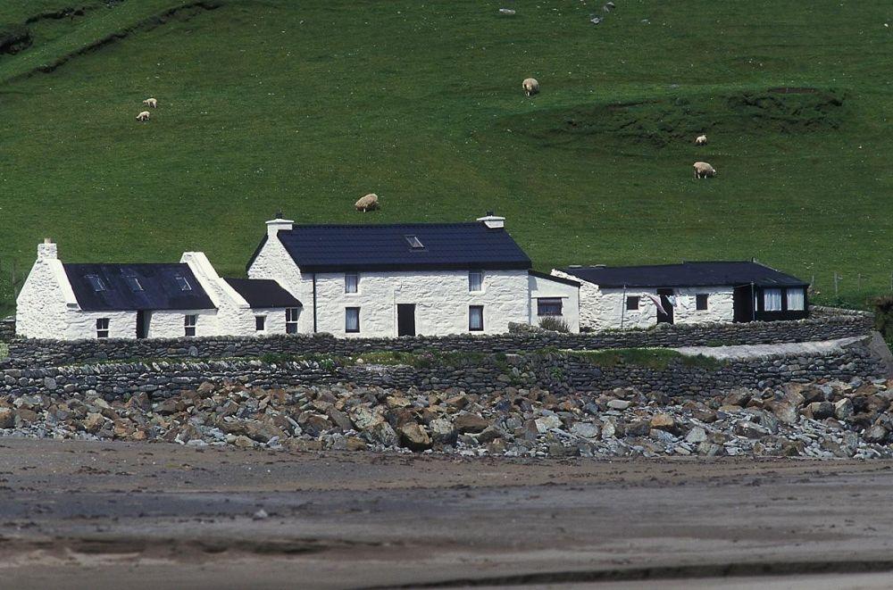 Maisons îles Shetland Ecosse