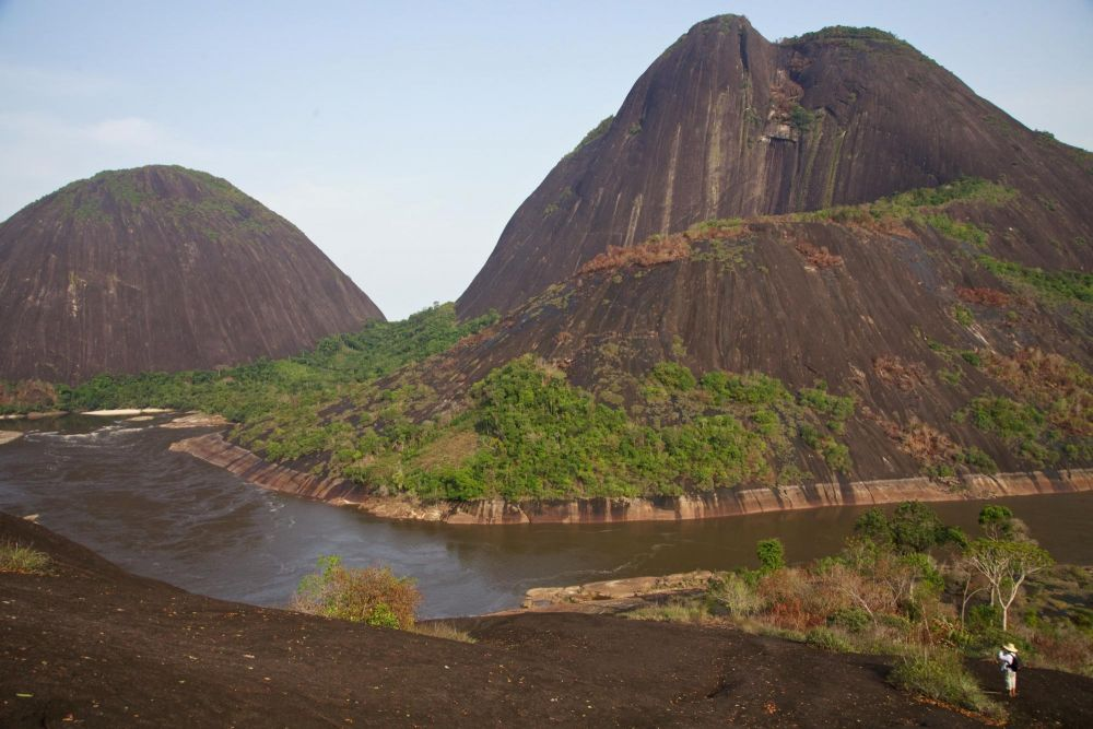 Cerros de Mavecure, lors de ce voyage en Colombie