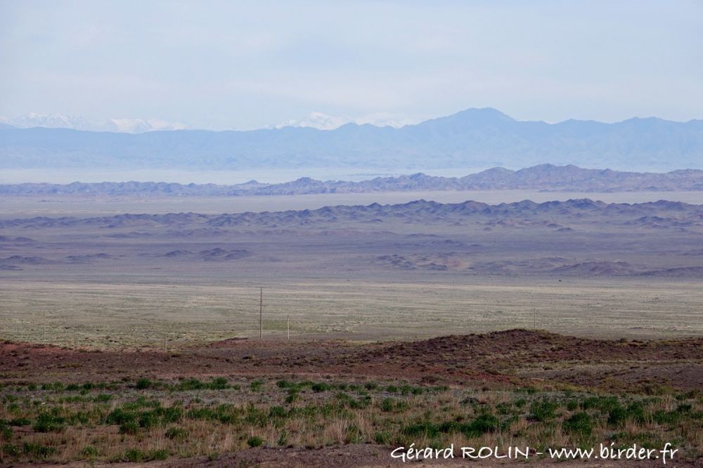 Vallée de Sogety Kazakhstan