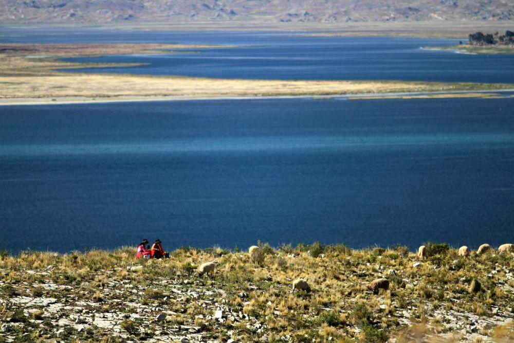 Péninsule de Chucuito, lac Titicaca, Pérou