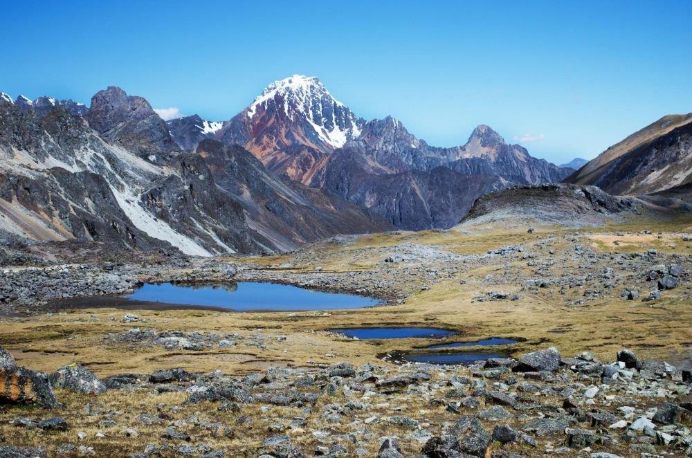 Col de Punta Tapush (4770m), Cordillère de Huayhuash, Pérou