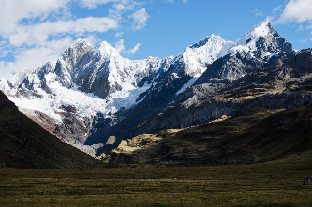 Jirishanca (6126m), depuis le campement Mitucocha, Cordillère de Huayhuash, Pérou