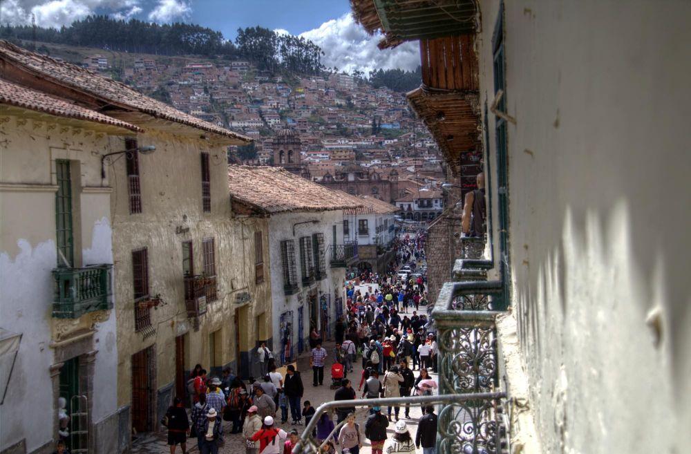 Rue de Cusco, Pérou