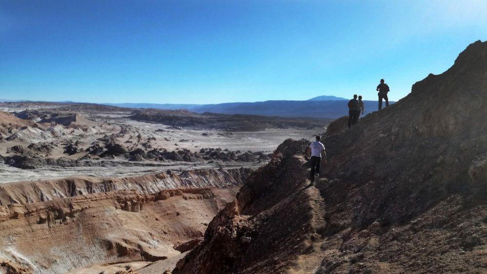 Balade dans la Vallée de la lune, an Pedro de Atacama, Chili
