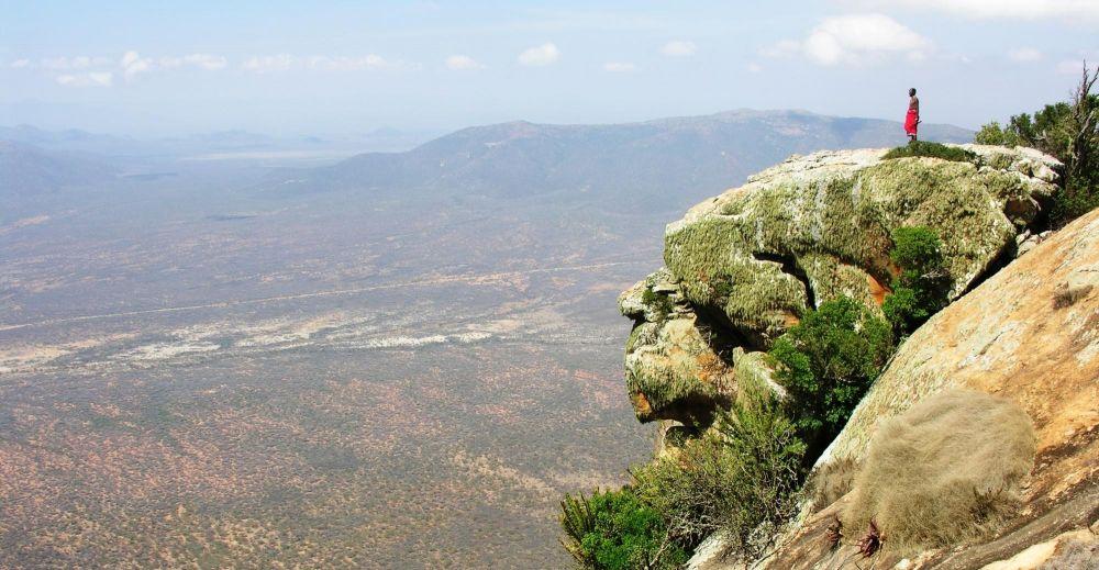 Samburu vue sur la Rift Valley