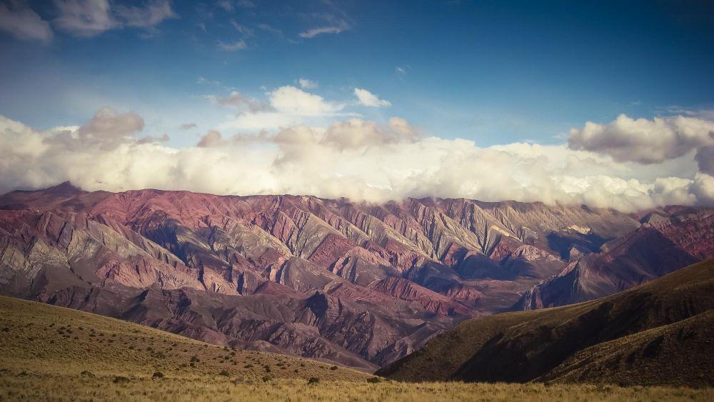 Montagne arc-en-ciel de l'Hornocal, Quebrada de Humahuaca, Argentine