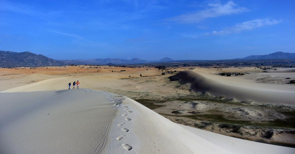 dune de sable au Vietnam