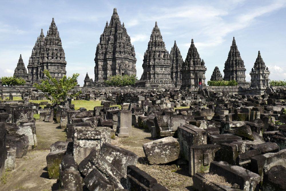 Temple indonésien