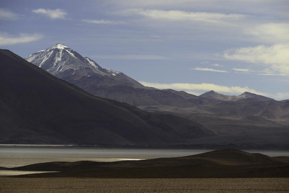 Dernière vue sur le Llullaillaco sur la route du retour à Salta