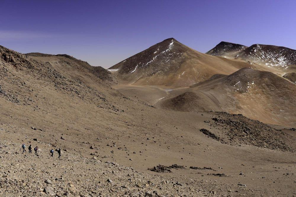 Descente du Volcan Llullaillaco, Argentine